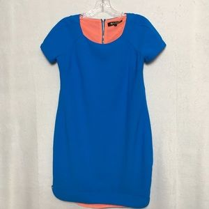 Hot & Delicious Blue Short Sleeve Dress, Size S